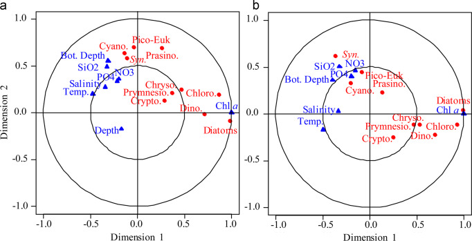 Influence of the Yellow Sea Warm Current on phytoplankton community
