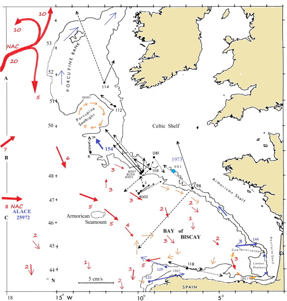 Plankton blooms, ocean circulation and the European slope ... on