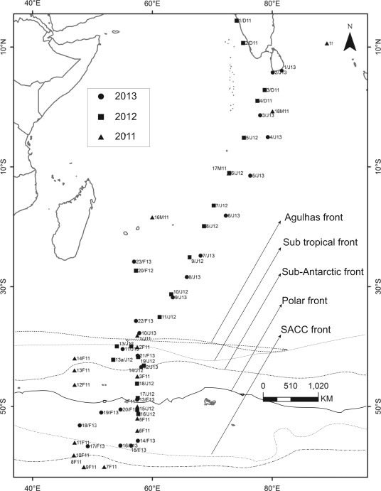 Stable Isotopic Signature Of Southern Ocean Deep Water Co2