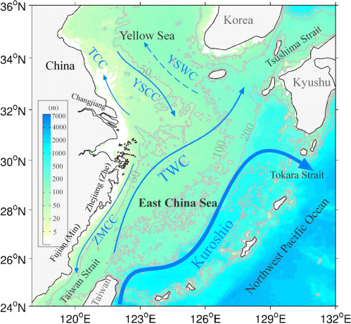Response of Biogeochemical Cycles and Ecosystem in the East China