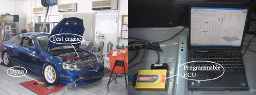 Automotive engine power performance tuning under numerical