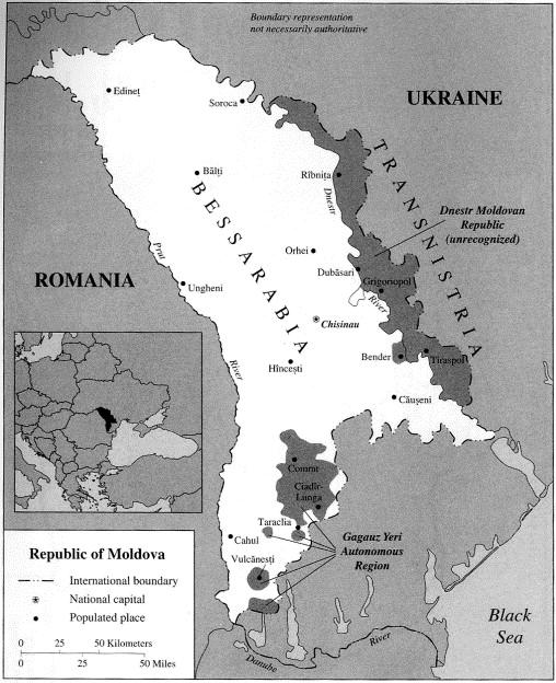 Church–state conflict in Moldova: the Bessarabian Metropolitanate