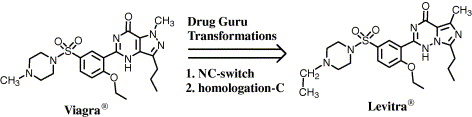 药物大师:药物设计的计算机软件程序使用药物化学规则