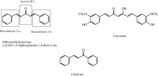 Unsymmetrical 1,5-diaryl-3-oxo-1,4-pentadienyls and their