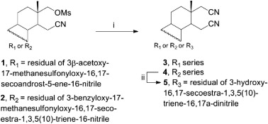 Synthesis and anticancer cell potential of steroidal 16,17-seco-16