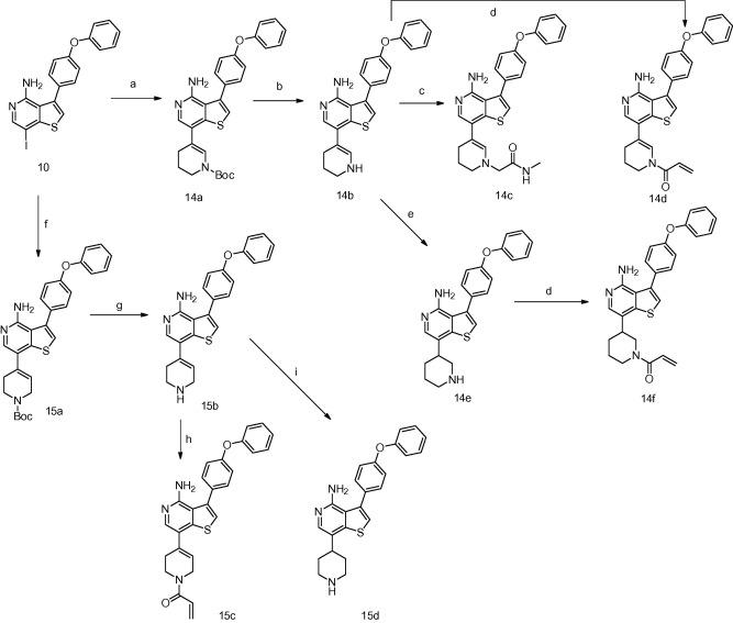 Representative synthetic route. | download scientific diagram.
