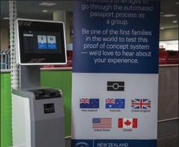 New Zealand customs tests Safran Identity & Security kiosks