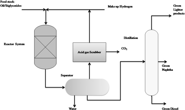 Processing of vegetable oil for biofuel production through