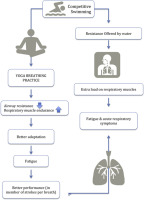 Yogic breathing practices improve lung functions of