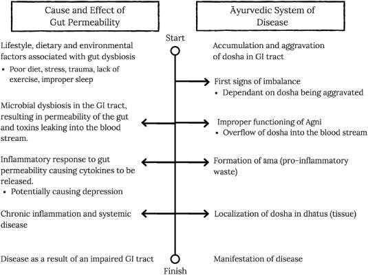 A cross comparison between Ayurvedic etiology of Major Depressive