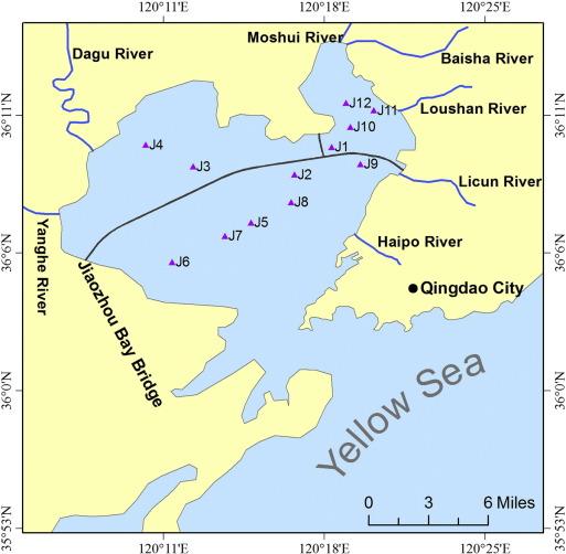 Environmental Changes In Jiaozhou Bay Of Northern China During The - Jiaozhou city map