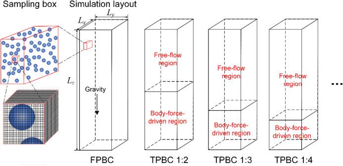 Free Flow Simulation