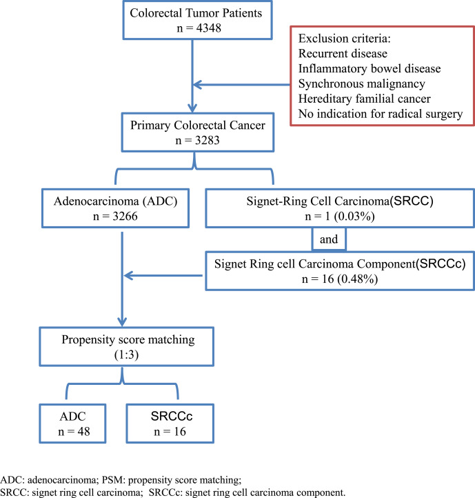 Does Signet Ring Cell Carcinoma Component Signify Worse Outcomes For Patients With Colorectal Cancer Sciencedirect