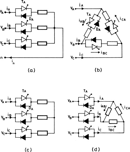 Harmonic Analysis of Three Phase AC Voltage Regulators Using