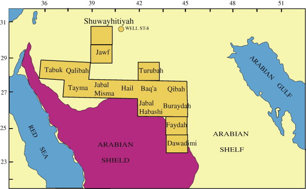 Paleozoic tectonostratigraphic framework of the Arabian Peninsula