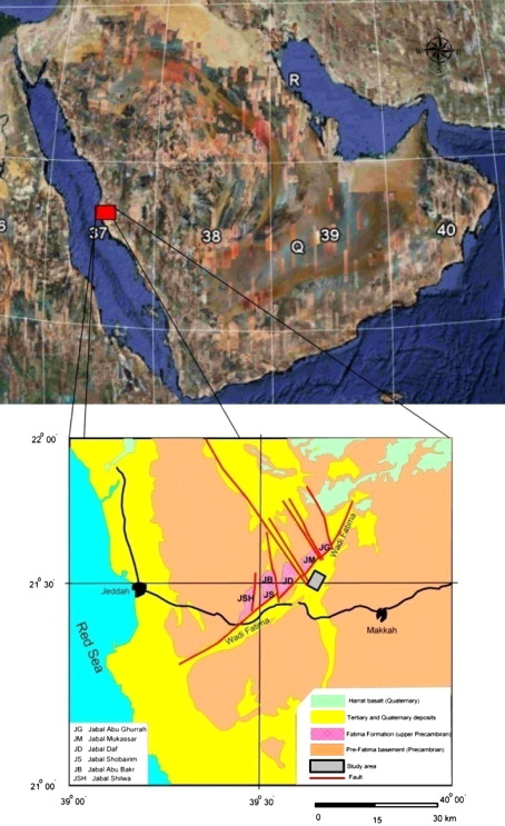 Magnetic survey for delineating subsurface structures and