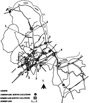 An Integrated Approach For Optimal Rail Transit Corridor
