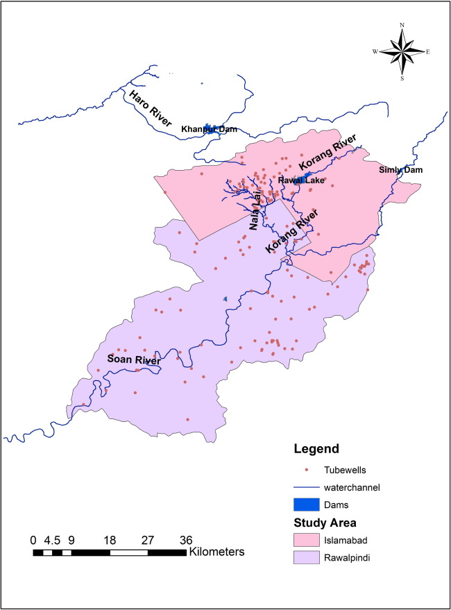 Water resource vulnerability assessment in Rawalpindi and
