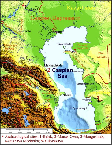 The Khvalynian Transgressions And Early Human Settlement In The Caspian Basin Sciencedirect
