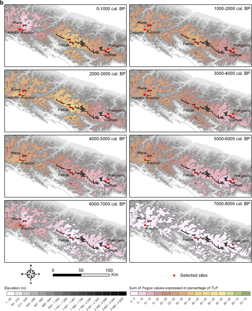 Mid-Late Holocene environmental change and human activities in the