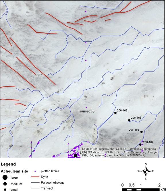 Multi-scale Acheulean landscape survey in the Arabian Desert