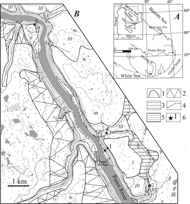 Late Pleistocene Stratigraphy According To The Sediment Sequence