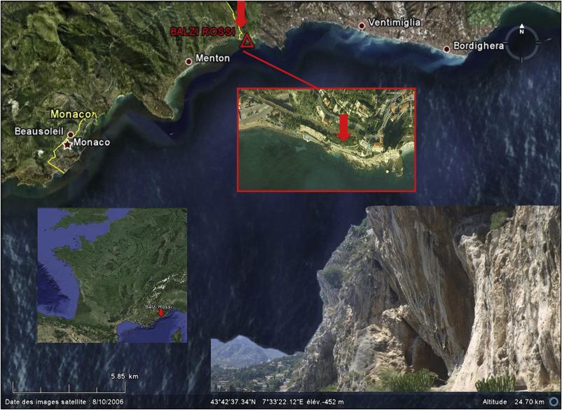 Mousterian in Balzi Rossi (Ventimiglia, Liguria, Italy): New