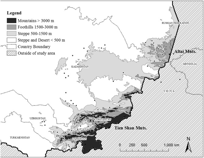 How to survive the glacial apocalypse: Hominin mobility ... Russia And Central Asia Map La Belle on find a country on a map, north africa map, russia in asia, russia and byzantine empire map, europe map, nato bases map, russia map with cities and rivers, russia political map, russia and philippines map, russia and norway map, tajikistan on asia map, map of russia map, just asia map, countries border china map, russia and former soviet union map, russia and switzerland map, volgograd russia map, russia and france map, central america map, russia and caucasus map,