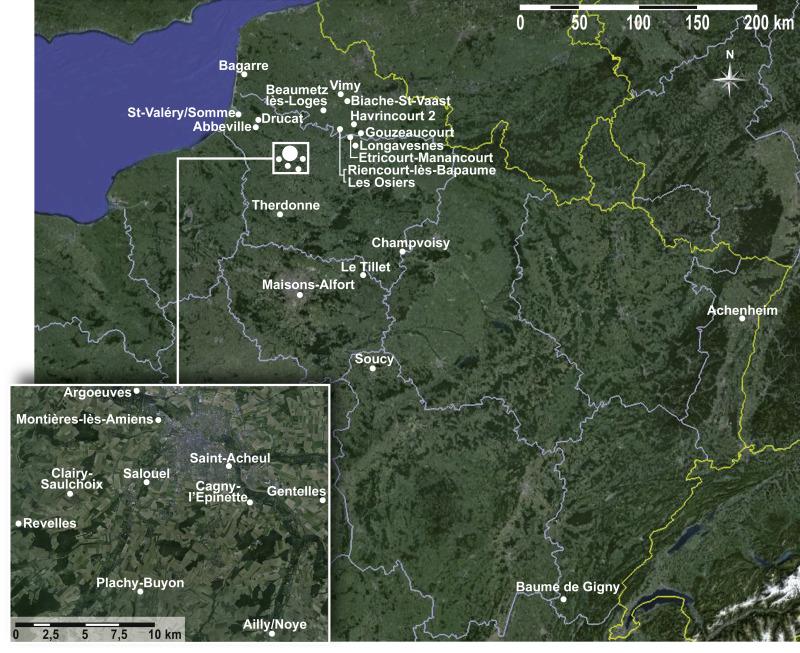 map du pays de caux ls 2013