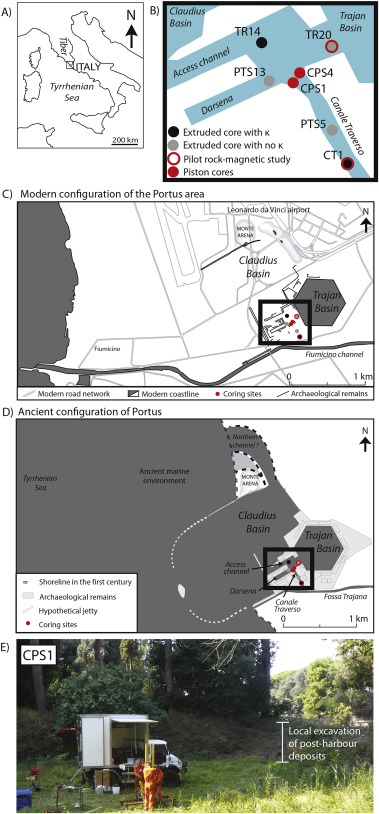 Dredging and canal gate technologies in Portus, the ancient