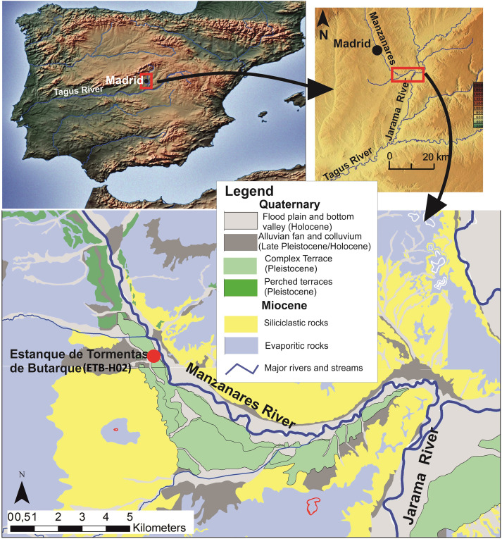 Middle Pleistocene Human Occupation In The Interior Of The