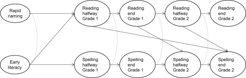 Predicting the integrated development of word reading and