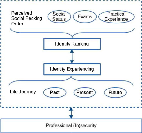 The odyssey of becoming: Professional ideny and ... on