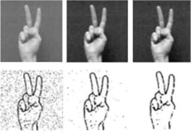 User-independent system for sign language finger spelling