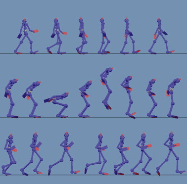 Action recognition on motion capture data using a dynemes