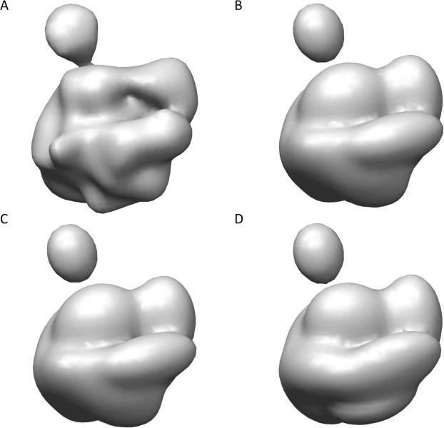 Gaussian-input Gaussian mixture model for representing