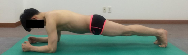 Comparison of EMG activity on abdominal muscles during plank