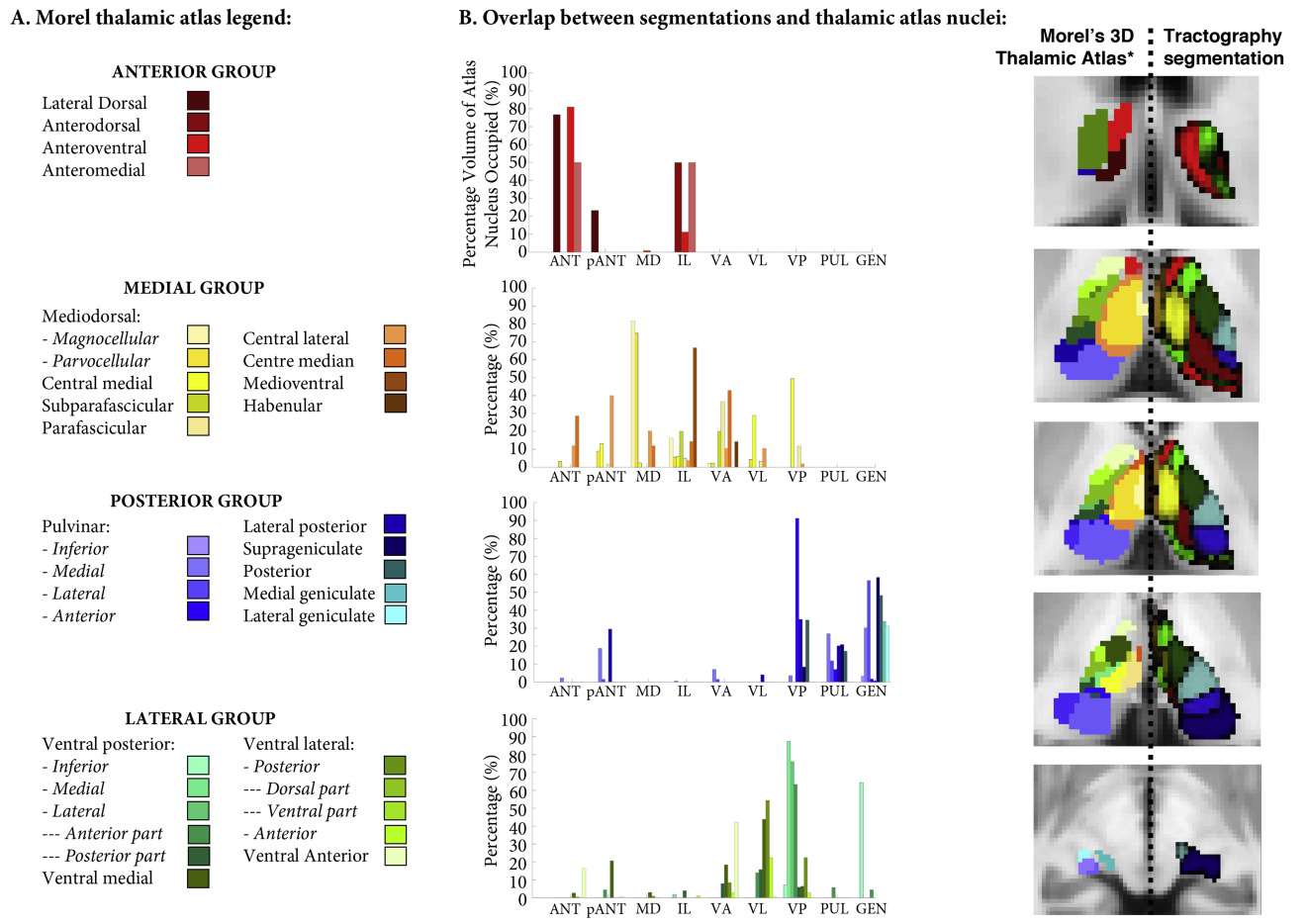 Defining Thalamic Nuclei And Topographic Connectivity Gradients In