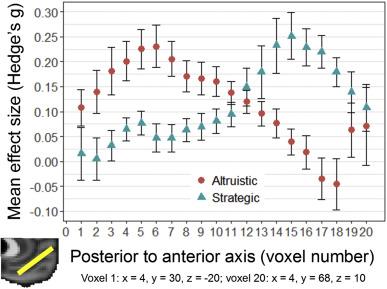 A comparative fMRI meta-analysis of altruistic and strategic