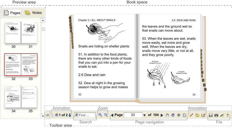 Realistic electronic books sciencedirect reading a realistic book readers can suppress the widgets surrounding the book space fandeluxe Image collections