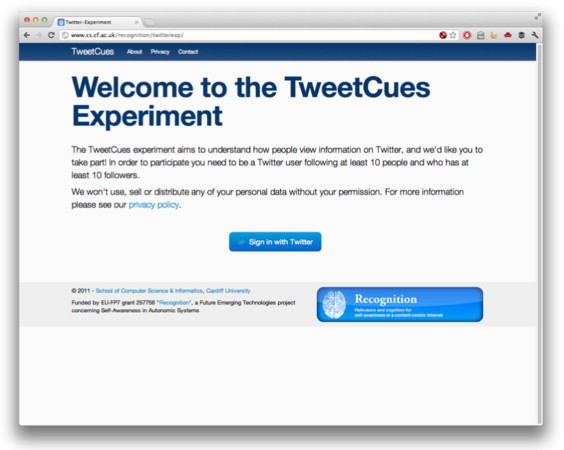 Human content filtering in Twitter: The influence of