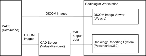 Integration of Chest CT CAD into the Clinical Workflow and