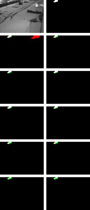 A comprehensive review of background subtraction algorithms