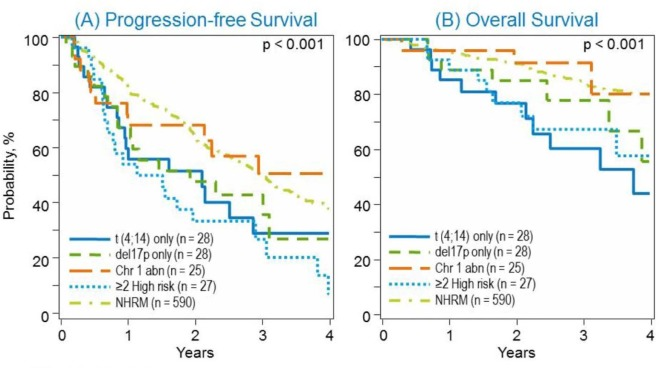 Post-Transplant Outcomes in High-Risk Compared with Non–High