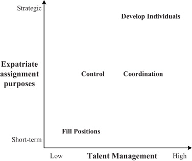 Expatriation Purposes And Talent Management.