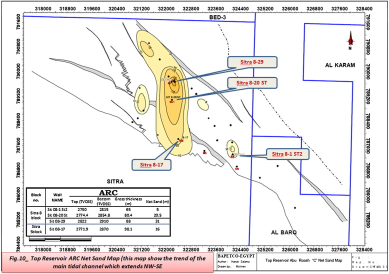 Identify Redevelopment Concepts To Enhance Abu Roash C Oil - Map of egypt before the sands