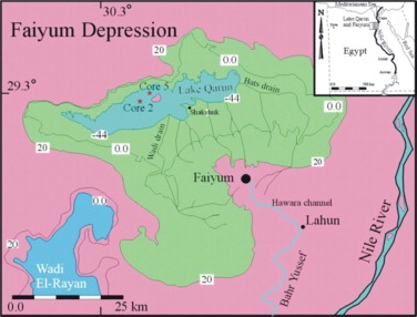 Evaluation Of Actions For Better Water Supply And Demand - Map of fayoum egypt