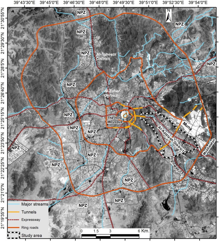 Monitoring landscape changes and spatial urban expansion