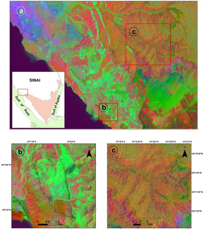 Landsat 8: Utilizing sensitive response bands concept for