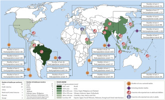 Diagnostic accuracy of tests for leprosy: a systematic